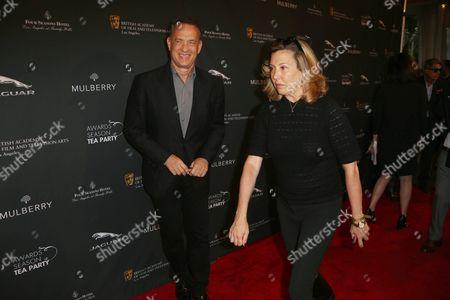 Tom Hanks and Leslee Dart