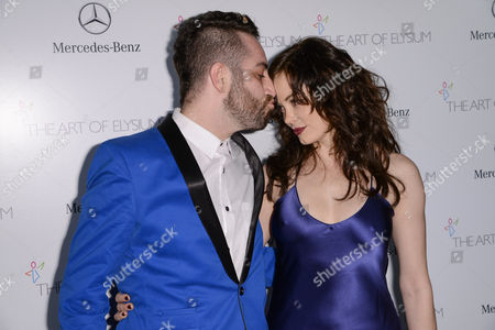 Davey Detail and Rose McGowan