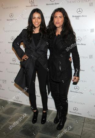 Olga Segura and Francesca Gregorini