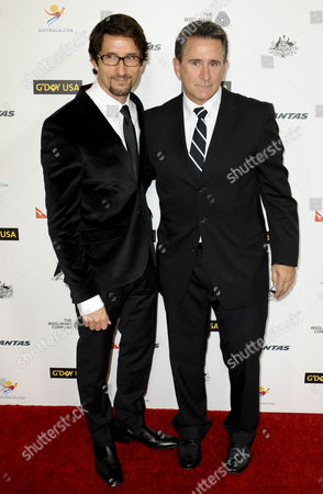 Anthony LaPaglia and brother Jonathan LaPaglia
