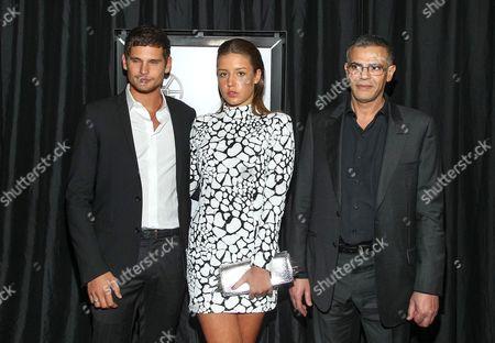 Jeremie Laheurte, Adele Exarchopoulos and Abdellatif Kechiche
