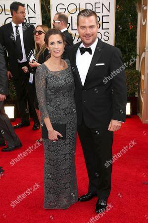 Caroline Fentress and Chris O Donnell