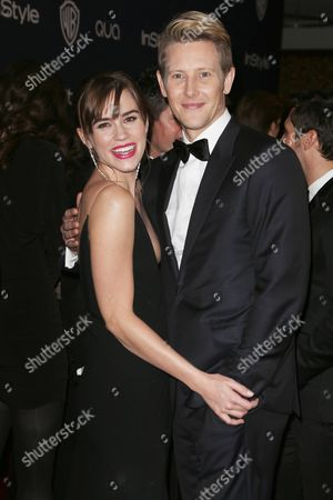 Editorial photo of 71st Annual Golden Globe Awards, Warner Bros and InStyle After Party, Los Angeles, America - 12 Jan 2014