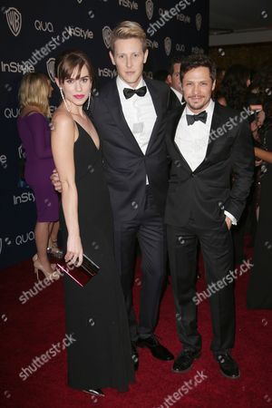 Christa B Miller, Gabriel Mann and Nick Wechsler