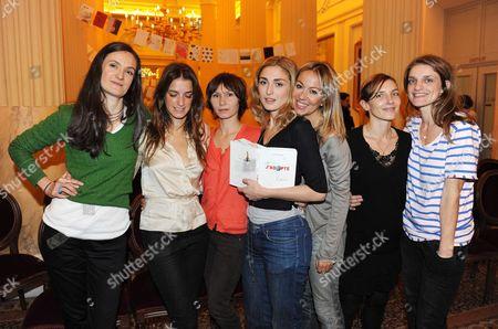 Coco Tassel, Julie Gayet, Emmanuelle Hauck, Olivia Cote, Judith Siboni, Joana Preiss, Lea Drucker, Dinara Droukarova