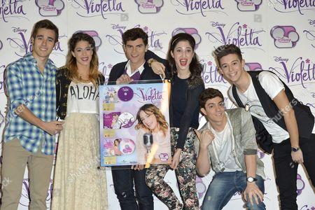 Editorial image of 'Violetta' Disney TV series photocall, Rome, Italy - 13 Jan 2014