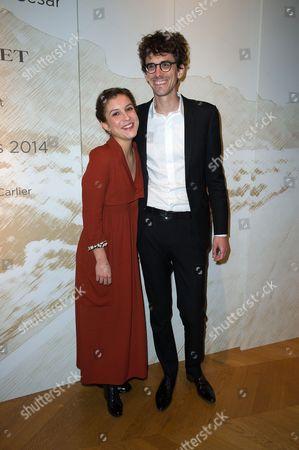 Flore Bonaventura and Hugo Gelin