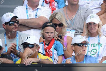 Editorial picture of Australian Open Tennis, Day Two, Melbourne Park, Melbourne, Australia - 14 Jan 2014