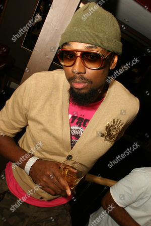 Stock Picture of UK Rapper, XO Man at 'Network Live' Music Industry Showcase at The Hill, Muswell Hill, London, 03/08/2007