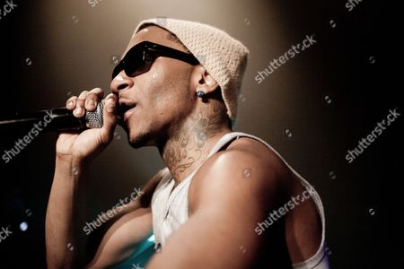 The American rapper and author Brandon McCartney is better know by his stage name Lil B or as 'The Based God'. Lil B is here seen at Click Festival in Denmark 2012