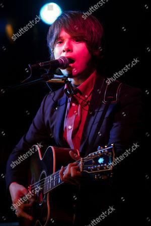 Editorial photo of John Lennon Mccullagh performing at Covo, Bologna, Italy - 10 Jan 2014