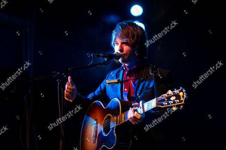 Editorial image of John Lennon Mccullagh performing at Covo, Bologna, Italy - 10 Jan 2014