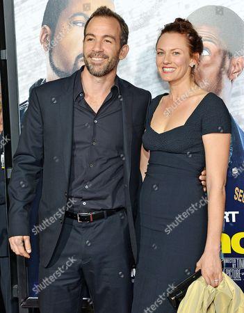 Stock Photo of Bryan Callen and Amanda Humphrey