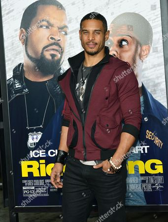 Editorial image of 'Ride Along' film premiere, Los Angeles, America - 13 Jan 2014