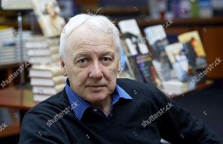 Editorial picture of Nicholas Shakespeare 'Priscilla' book promotion at Blackwells book shop, Oxford, Britain - 14 Jan 2014