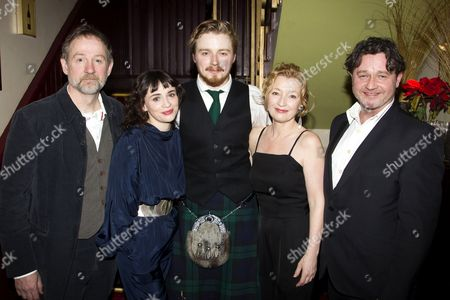 Editorial picture of 'Ghosts' press night and afterparty at Walkers of Whitehall, London, Britain - 14 Jan 2014