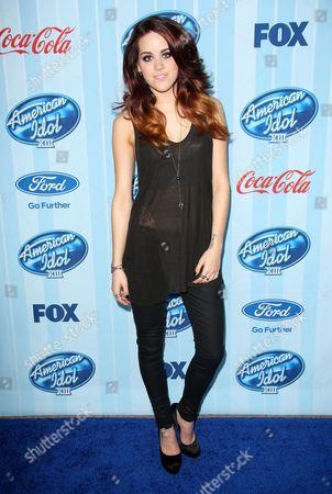 Editorial image of American Idol XIII Kick Off, Los Angeles, America - 14 Jan 2014