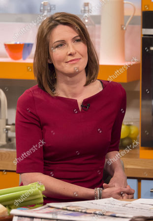 Editorial picture of 'Lorraine Live' TV Programme, London, Britain - 15 Jan 2014