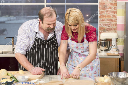 Dick Strawbridge and Holly Willoughby