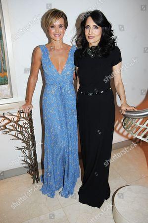 Amanda Holden and Renu Mehta