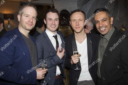 Damian Humbley, Alex Parker, Daniel Crossley and David Bedella