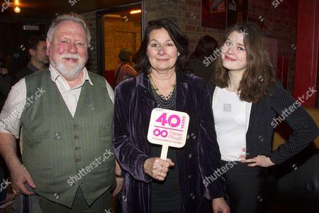 Kenneth Cranham, Fiona Victory and Kathleen Cranham