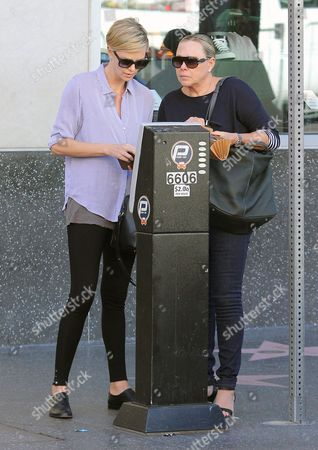 Charlize Theron with her mother Gerda Theron