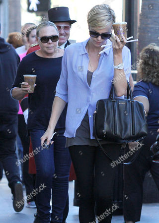Editorial picture of Charlize Theron out and about, Los Angeles, America - 15 Jan 2014
