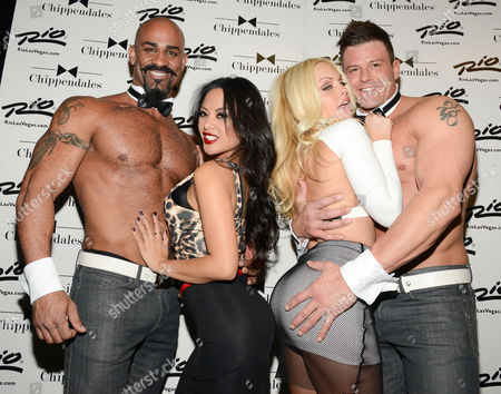 Editorial picture of Jesse Jane celebrity guest Chippendales, Las Vegas, America - 15 Jan 2014