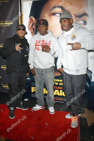Styles P, Jadakiss and Sean Divine Jacobs of The L.O.X.