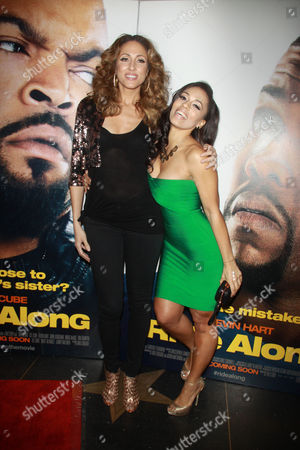 Stock Image of Mica Hughes and Melyssa Ford