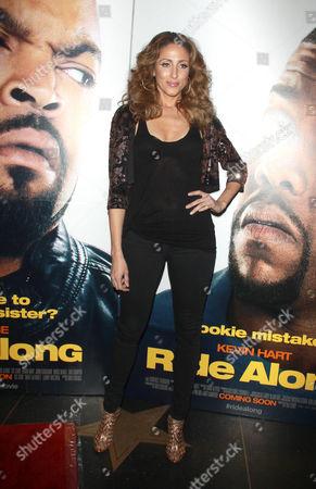 Editorial image of 'Ride Along' film screening, New York, America - 15 Jan 2014