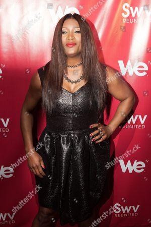 Editorial image of SWV Reunited Series Premiere, New York, America - 15 Jan 2014