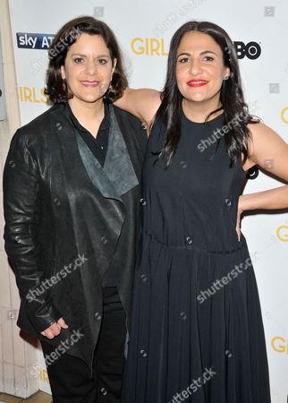 Editorial image of 'Girls' TV show season three premiere, London, Britain - 15 Jan 2014