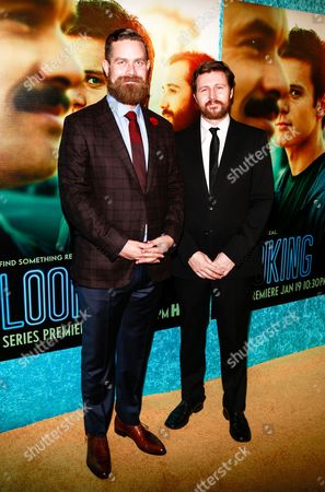 Stock Photo of Michael Lannan and Andrew Haigh