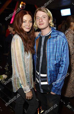 Clara Paget and Dominic Jones