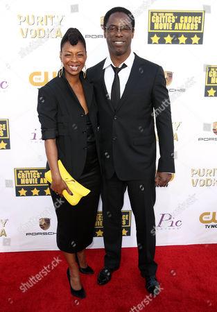 Jenisa Garland and Isaiah Washington