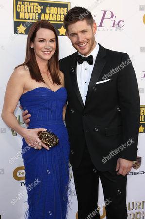 Stock Picture of Danneel Harris and Jensen Ackles