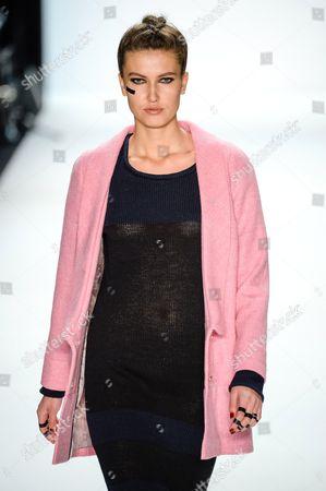 Editorial photo of Anne Gorke show, Mercedes-Benz Fashion Week, Berlin, Germany - 17 Jan 2014