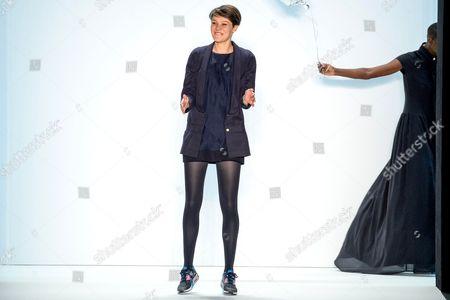 Editorial image of Anne Gorke show, Mercedes-Benz Fashion Week, Berlin, Germany - 17 Jan 2014