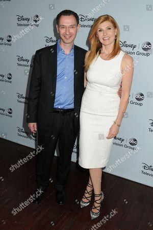 Paul Lee and Connie Britton