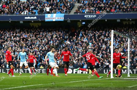Editorial image of Barclays Premier League 2013/14, Manchester City v Cardiff City, Etihad Stadium, Manchester, Britain - 18 Jan 2014