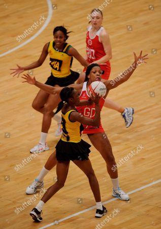 Eboni Beckford Chambers of England Netball