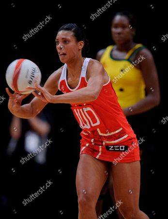 Stacey Francis of England Netball