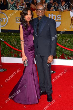 Keisha Whitaker and Forest Whitaker
