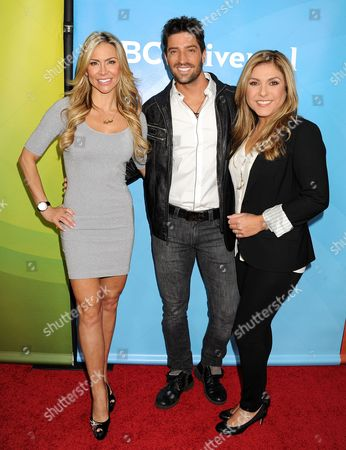 Aylin Mujica, David Chocarro and Lorena Garcia