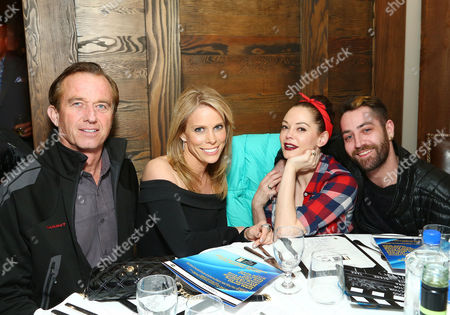 Stock Picture of Robert F. Kennedy Jr., Cheryl Hines, Rose McGowan and Davey Detail