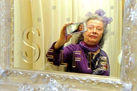 Editorial photo of Ultra Violet 'Selfie' exhibition at Galerie Depardieu in Nice, France - 17 Jan 2014