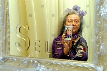 Editorial image of Ultra Violet 'Selfie' exhibition at Galerie Depardieu in Nice, France - 17 Jan 2014