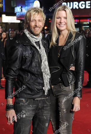 Rick Parfitt Jnr and Rachael Parfitt